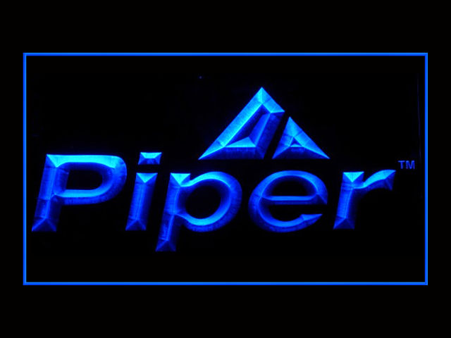 Piper Aircraft LED Light Sign