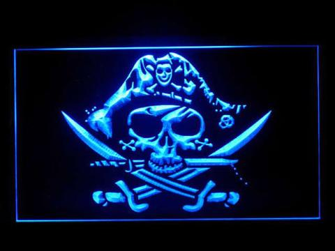 Pirate Deadman's Chest Jolly Roger LED Neon Sign