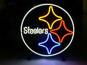 Pittsburgh Steelers Classic Neon Light Sign 17 x 14