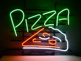 Pizza Take Away Cafe Classic Neon Light Sign 17 x 14