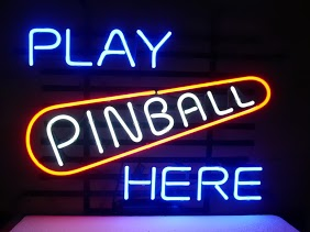 Play Pinball Here Arcade Game Classic Neon Light Sign 17 x 14