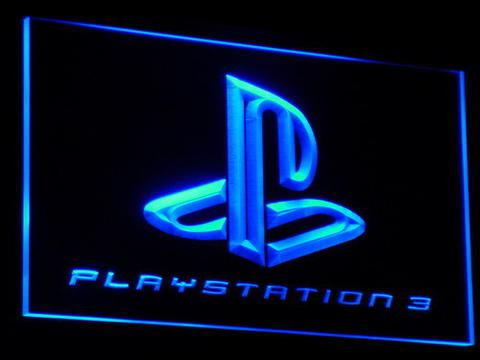Playstation 3 Game Room Bar Beer LED Neon Sign