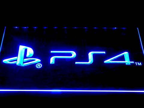 Playstation 4 LED Neon Sign