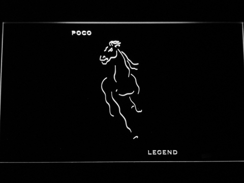 Poco Legend LED Neon Sign