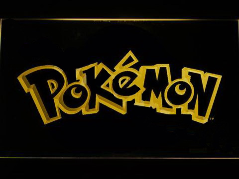 Pokemon LED Neon Sign