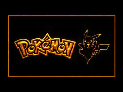 Pokemon Pikachu LED Neon Sign