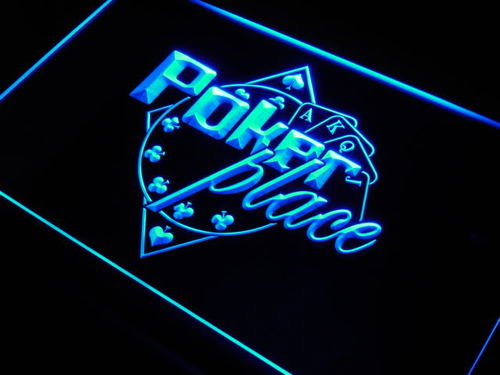 Poker Place Neon Light Sign