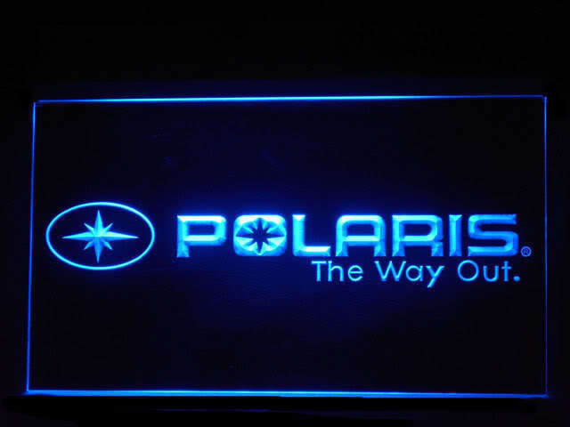 Polaris Snowmobile LED Sign