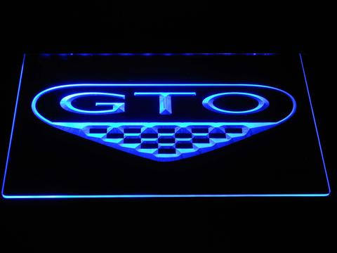 Pontiac GTO LED Neon Sign