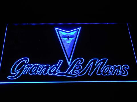 Pontiac Grand Le Mans Wordmark LED Neon Sign