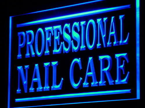 Professional Nail Care LED Sign