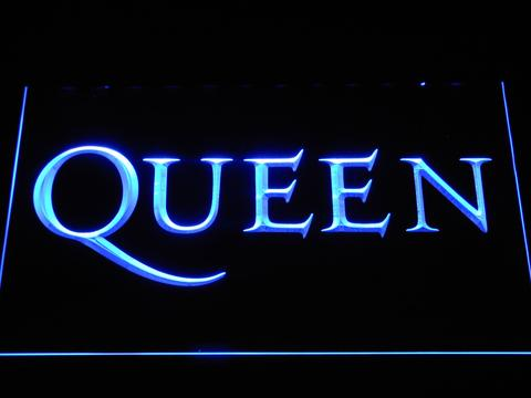 Queen Wordmark LED Neon Sign