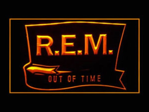 R.E.M. Out Of Time LED Neon Sign