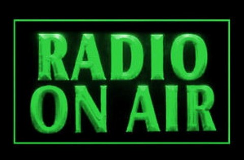 Radio On Air 2 LED Neon Sign