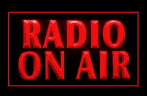 Radio On Air LED Neon Sign