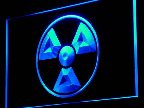 Radioactive Danger LED Neon Sign