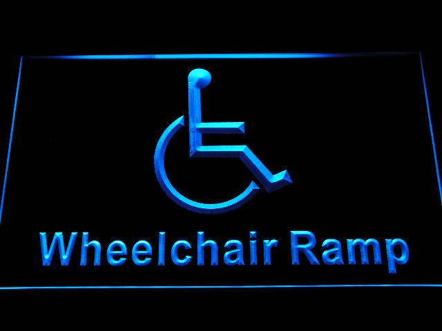 Ramp Access Disabled Handicap Wheelchair Accessible