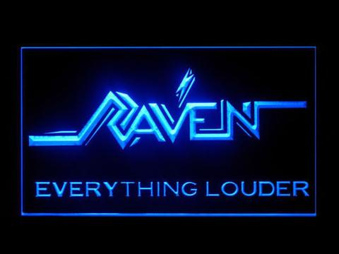 Raven Everything Louder LED Neon Sign
