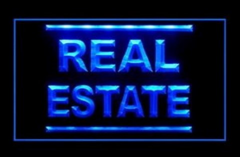 Real Estate Rent Lease Professional LED Neon Sign