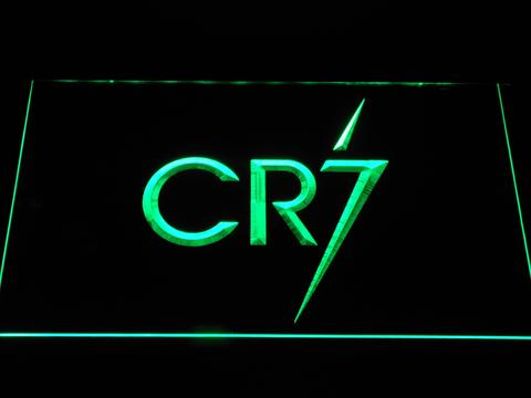 Real Madrid CF Cristiano Ronaldo CR7 Logo LED Neon Sign
