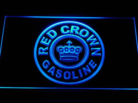 Red Crown Gasoline LED Neon Sign