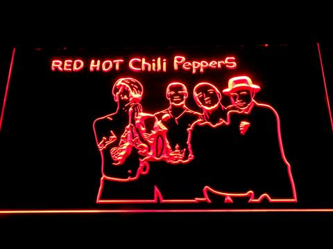 Red Hot Chili Peppers Silhouette LED Neon Sign