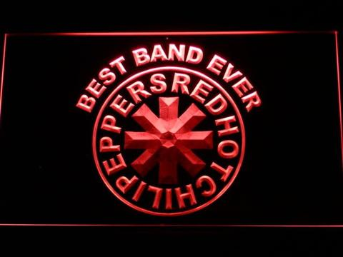 Red hot Chili Best Band Ever peppers LED Neon Sign