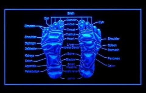 Reflexology Foot Massage Treatment LED Neon Sign