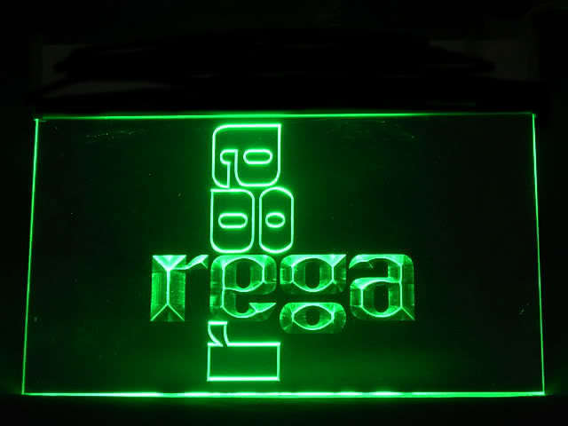Rega hi-fi System LED Sign