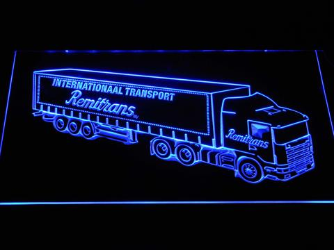 Remitrans Truck LED Neon Sign
