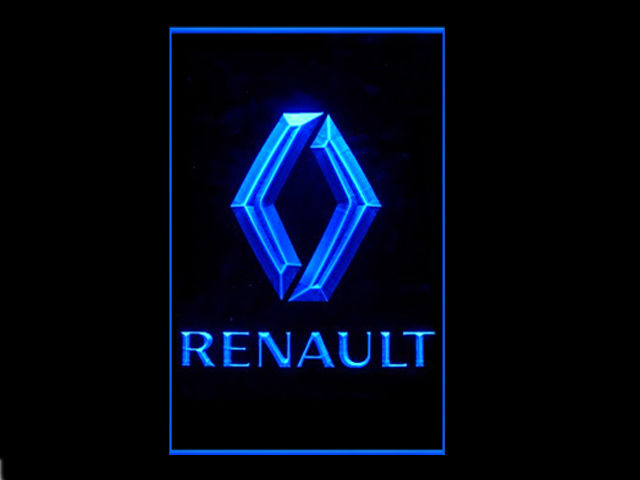 Renault Motors LED Light Sign