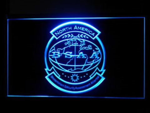 Resident Evil 5 Biohazard BSAA LED Neon Sign