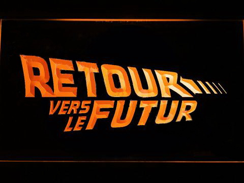 Retour vers le Futur LED Neon Sign