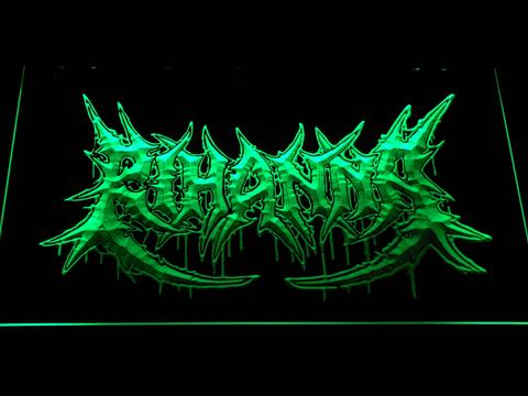 Rihanna Death Metal VMA Logo LED Neon Sign