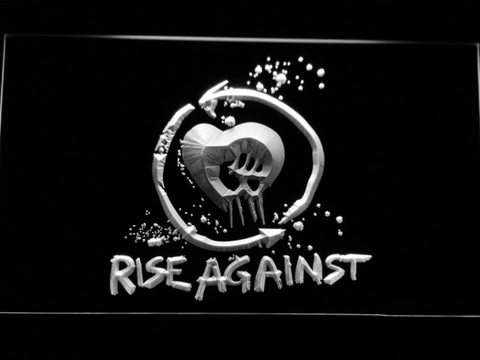 Rise Against LED Neon Sign