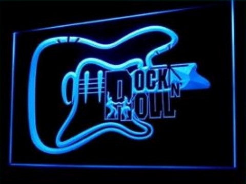 Rock Music School LED Neon Sign