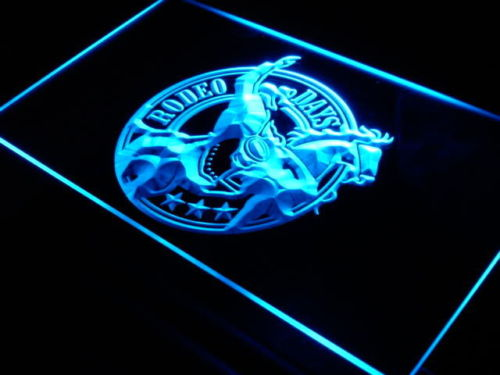 Rodeo Days Cowboys Horse LED Neon Sign
