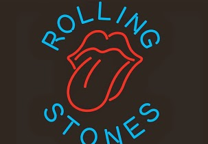 Rolling Stones Lips Logo Classic Neon Light Sign 17 x 14
