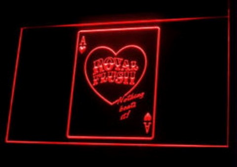 Royal Flush 2 Casino Poker Game LED Neon Sign