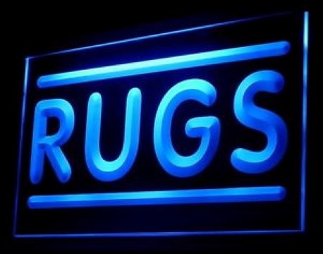 Rugs Shop LED Neon Sign