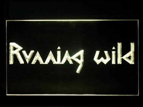 Running Wild LED Neon Sign