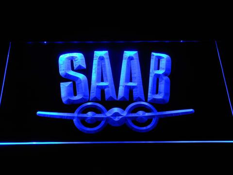 Saab Aeroplane Logo LED Neon Sign