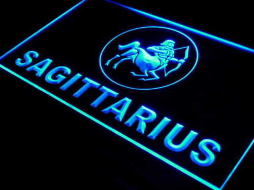 Sagittarius Zodiac LED Sign
