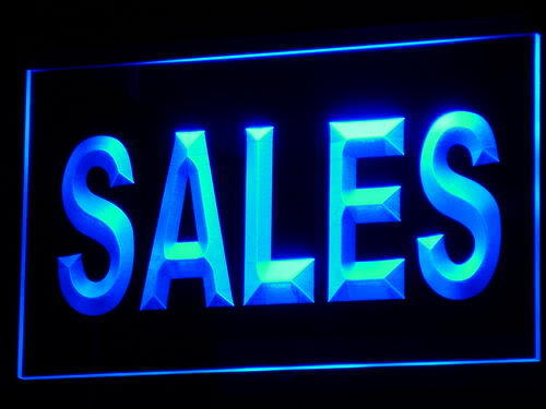 Sales Property Market Display neon Light Sign