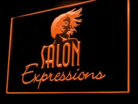Salon expressions Beautician Facial Mask Massage LED Neon Sign