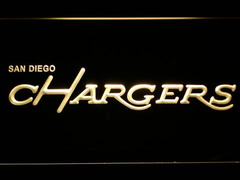 San Diego Chargers 1974-1987 LED Neon Sign