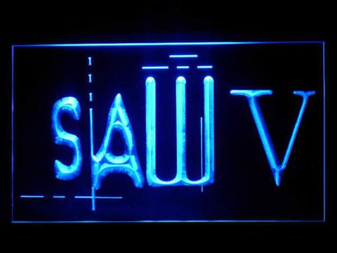 Saw V LED Neon Sign
