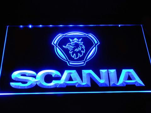 Scania Wordmark LED Neon Sign
