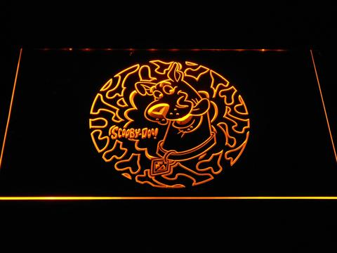Scooby Doo Circle Pattern LED Neon Sign