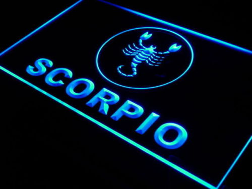 Scorpio Zodiac LED Light Sign